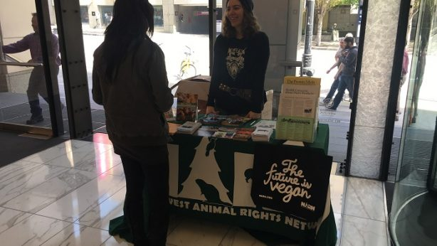 NARN tabling event